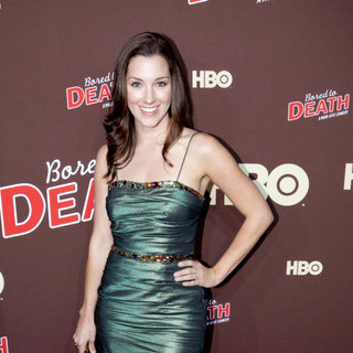 "Carly Craig in Premiere of ""Bored to Death"" Season 2 - Arrivals"