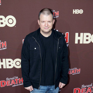 "Jim Norton in Premiere of ""Bored to Death"" Season 2 - Arrivals"