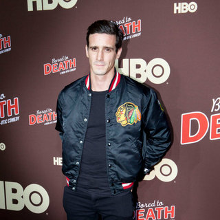 "James Ransone in Premiere of ""Bored to Death"" Season 2 - Arrivals"