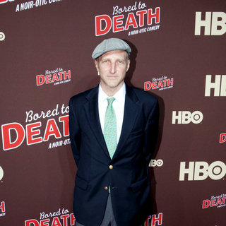 "Jonathan Ames in Premiere of ""Bored to Death"" Season 2 - Arrivals"
