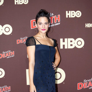 "Jenny Slate in Premiere of ""Bored to Death"" Season 2 - Arrivals"