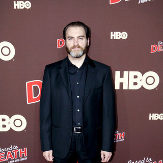 "Michael Stuhlbarg in Premiere of ""Bored to Death"" Season 2 - Arrivals"