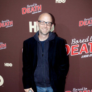 "Moby in Premiere of ""Bored to Death"" Season 2 - Arrivals"