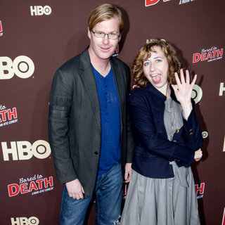 "Kurt Braunohler, Kristen Schaal in Premiere of ""Bored to Death"" Season 2 - Arrivals"