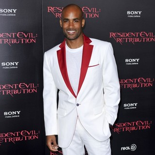 Boris Kodjoe in Resident Evil: Retribution Los Angeles Premiere - Arrivals
