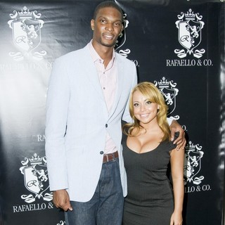 Chris Bosh, Adrienne Williams in NBA Draft Kickoff and Spirit Collection Unveiling
