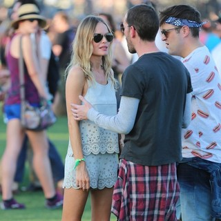 Kate Bosworth, Michael Polish in The 2013 Coachella Valley Music and Arts Festival - Week 1 Day 1
