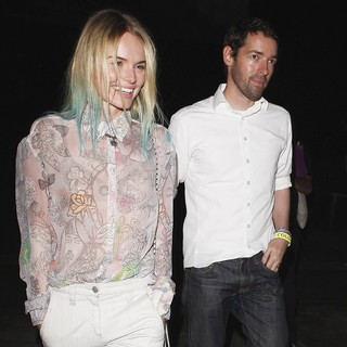 Kate Bosworth - Kate Bosworth and Michael Polish Leaving UCLA After Watching Coldplay Perform