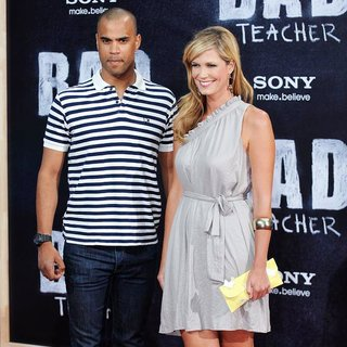 Patrice Bouedibela, Verena Wriedt in The German Premiere of Bad Teacher