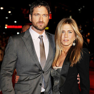 Gerard Butler, Jennifer Aniston in The Bounty Hunter - UK Film Premiere - Arrivals