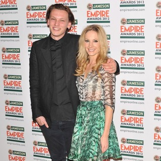 Jamie Campbell Bower, Joanne Froggatt in The Empire Film Awards 2012 - Press Room