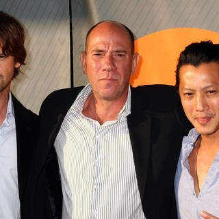 Chris Bowers, Miguel Ferrer, Will Yun Lee in NBC All-Star Party - Arrivals