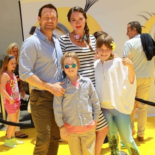 Grant Bowler, Ezekiel Bowler, Edie Bowler in Premiere of Universal Pictures' Despicable Me 2