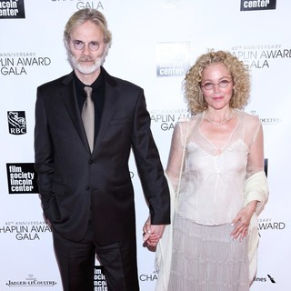 Kenneth Bowser, Amy Irving in 40th Anniversary Chaplin Award Gala Honoring Barbra Streisand
