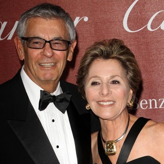 Stewart Boxer, Barbara Boxer in The 23rd Annual Palm Springs International Film Festival Awards Gala - Arrivals