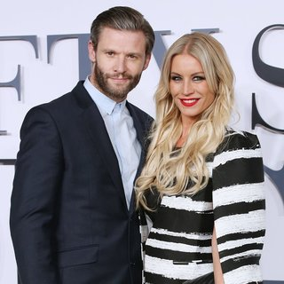 Eddie Boxshall, Denise Van Outen in Fifty Shades of Grey - UK Film Premiere