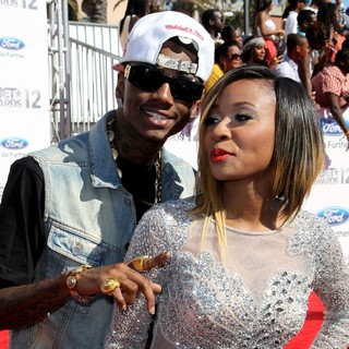 Soulja Boy in The BET Awards 2012 - Arrivals - boy-diamond-bet-awards-2012-01