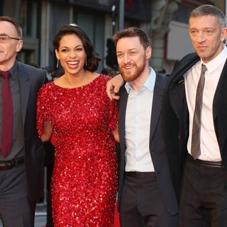Danny Boyle, Rosario Dawson, James McAvoy, Vincent Cassel in Trance World Premiere - Arrivals