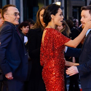 Danny Boyle, Rosario Dawson, James McAvoy in Trance World Premiere - Arrivals