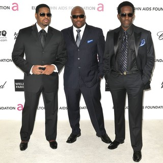 Boyz II Men in The 20th Annual Elton John AIDS Foundation's Oscar Viewing Party - Arrivals - boyz-ii-men-20th-annual-elton-john-aids-foundation-01