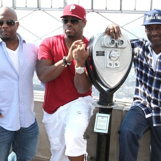 Boyz II Men in Boyz II Men Promote Their New Single