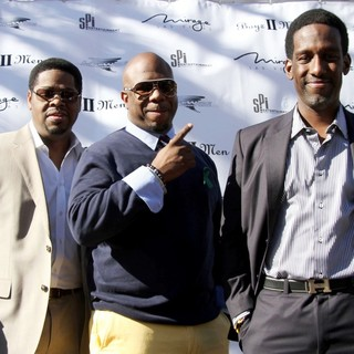 Boyz II Men in A Special Announcement Event - boyz-ii-men-special-announcement-event-01