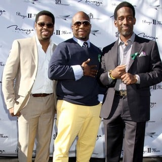 Boyz II Men in A Special Announcement Event - boyz-ii-men-special-announcement-event-04