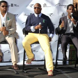 Boyz II Men in A Special Announcement Event - boyz-ii-men-special-announcement-event-06