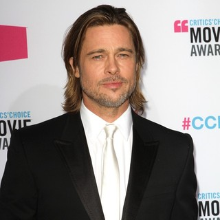 Brad Pitt in 17th Annual Critic's Choice Movie Awards - Arrivals