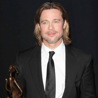 Brad Pitt in The 23rd Annual Palm Springs International Film Festival Awards Gala - Press Room