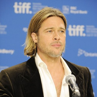 Brad Pitt in 36th Annual Toronto International Film Festival - Moneyball - Press Conference
