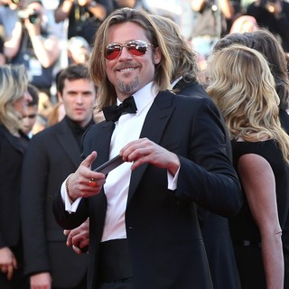 Brad Pitt in Killing Them Softly Premiere - During The 65th Cannes Film Festival