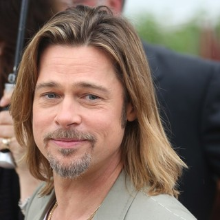 Brad Pitt in Killing Them Softly Photocall - During The 65th Cannes Film Festival