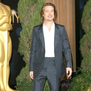 Brad Pitt in 84th Annual Academy Awards Nominees Luncheon