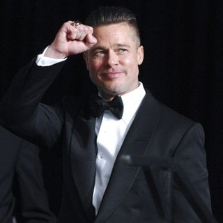 Brad Pitt in The 86th Annual Oscars - Press Room