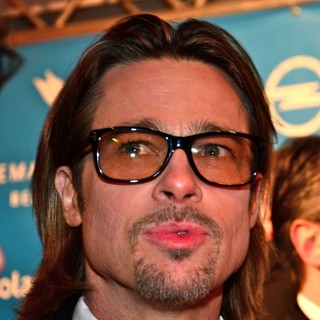Brad Pitt in The Cinema for Peace Gala