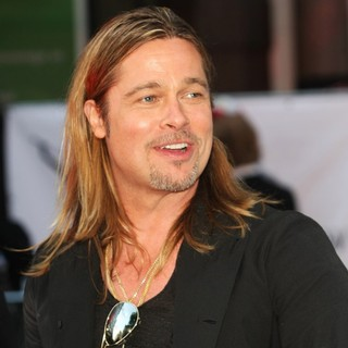 Brad Pitt in UK Film Premiere of World War Z - Arrivals