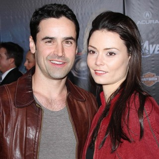 Jesse Bradford, Monica Gonzalo in World Premiere of The Avengers - Arrivals