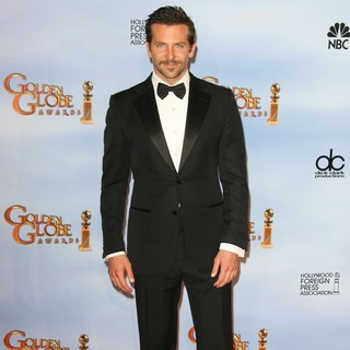 Bradley Cooper in The 69th Annual Golden Globe Awards - Press Room