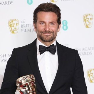 Bradley Cooper in The EE British Academy Film Awards 2019 - Press Room