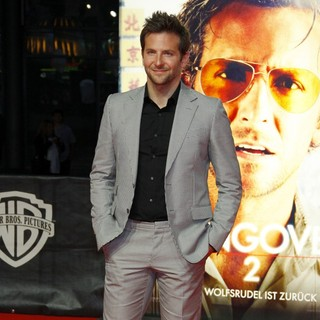 Bradley Cooper in The German Premiere of The Hangover Part II