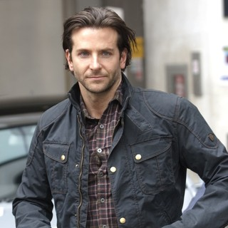 Bradley Cooper in Celebrities at The BBC Radio 1 Studios