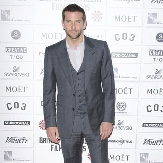 Bradley Cooper in Moet British Independent Film Awards 2011