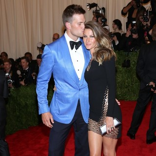 Tom Brady, Gisele Bundchen in PUNK: Chaos to Couture Costume Institute Gala