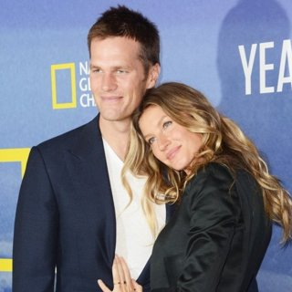 Tom Brady, Gisele Bundchen in National Geographic's Years of Living Dangerously Season 2 World Premiere - Red Carpet Arrivals