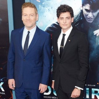 Kenneth Branagh, Aneurin Barnard in Dunkirk New York Premiere - Red Carpet Arrivals