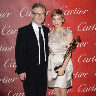 Kenneth Branagh, Michelle Williams in The 23rd Annual Palm Springs International Film Festival Awards Gala - Press Room
