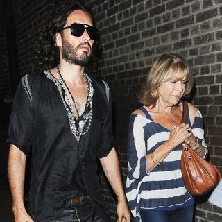 Russell Brand, Barbara Elizabeth in Russell Brand and Barbara Elizabeth Night Out in London
