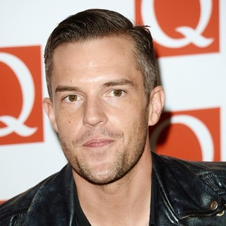 The Killers in The Q Awards 2012 - Arrivals - brandon-flowers-q-awards-2012-01