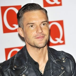 The Killers in The Q Awards 2012 - Arrivals - brandon-flowers-q-awards-2012-02